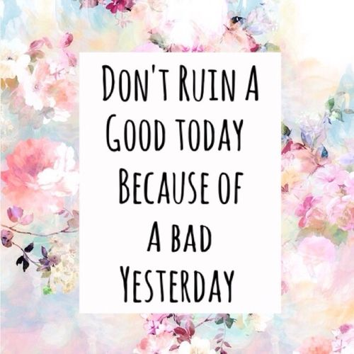 good today bad yesterday