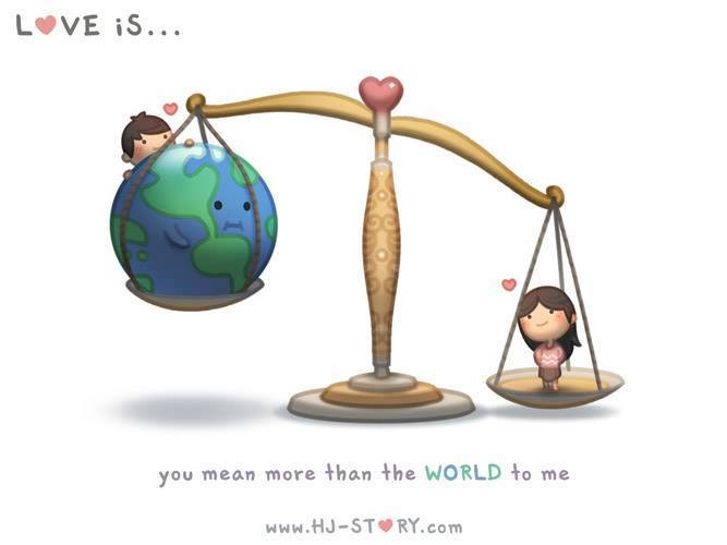 love more than earth