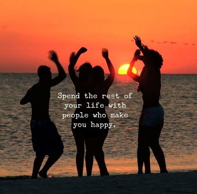 people who make you happy