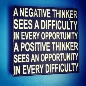 positive -negative