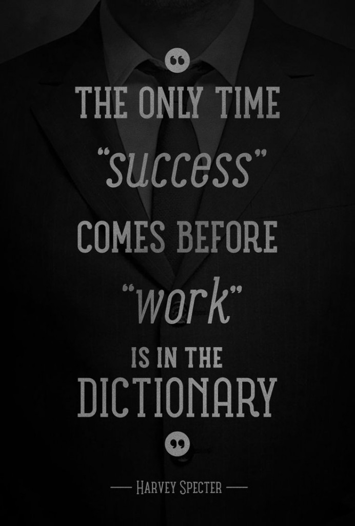 success before work dictionary