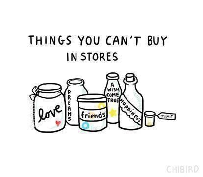 things can-t buy in stores