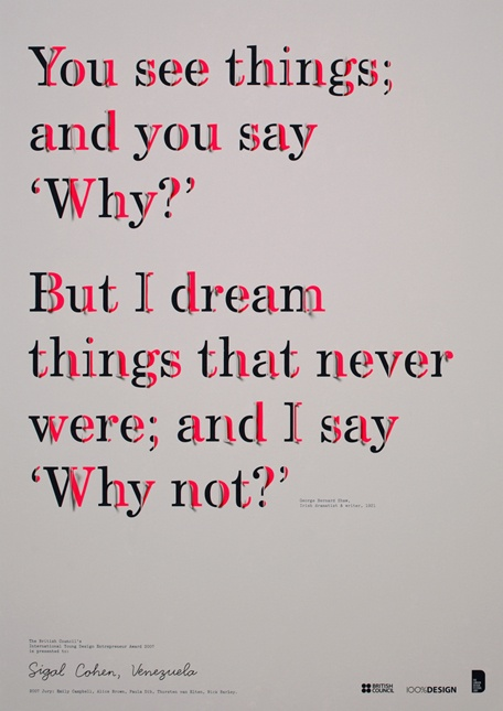 why - why not - Shaw