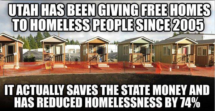 Utah houses for homeless