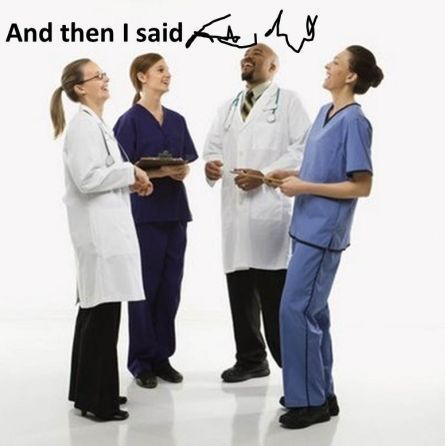 doctors handwriting