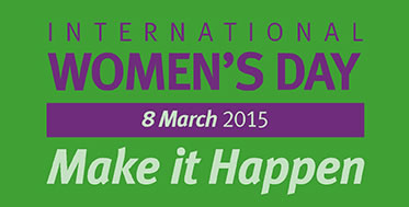 internationa women day 2015