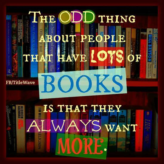 love books - want more
