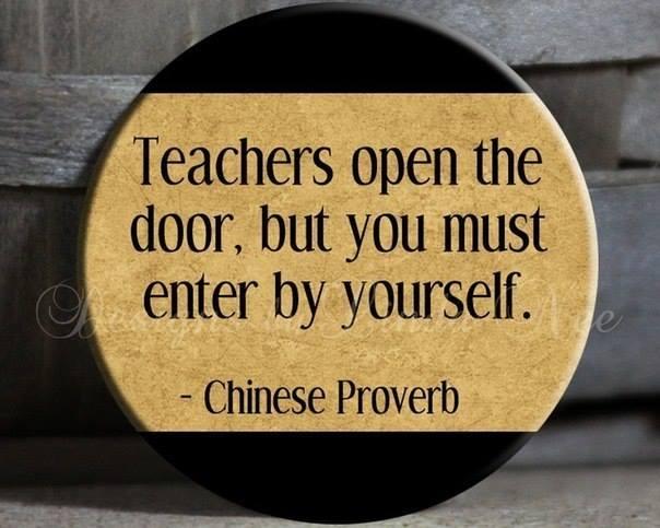 teachers open door