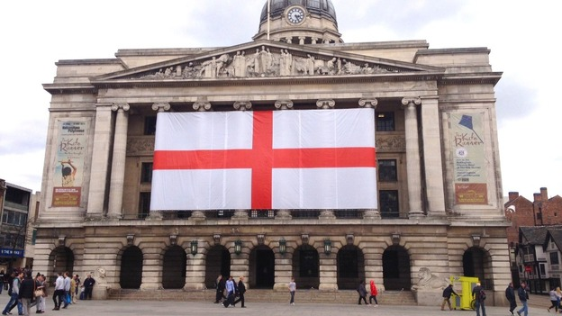 ST George day flag