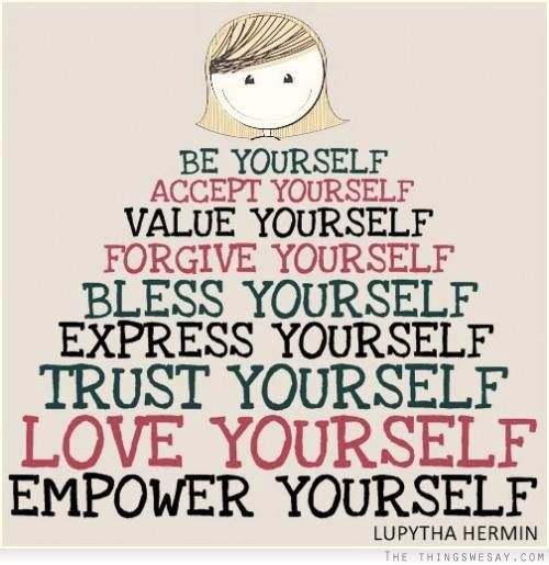 be yourself - empower yourself
