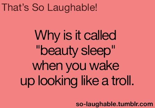 beauty sleep troll