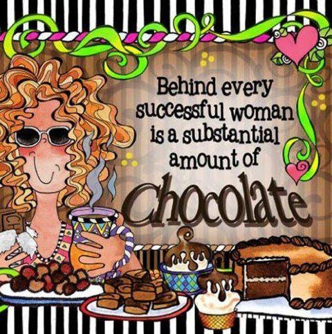 chocolate-successful woman