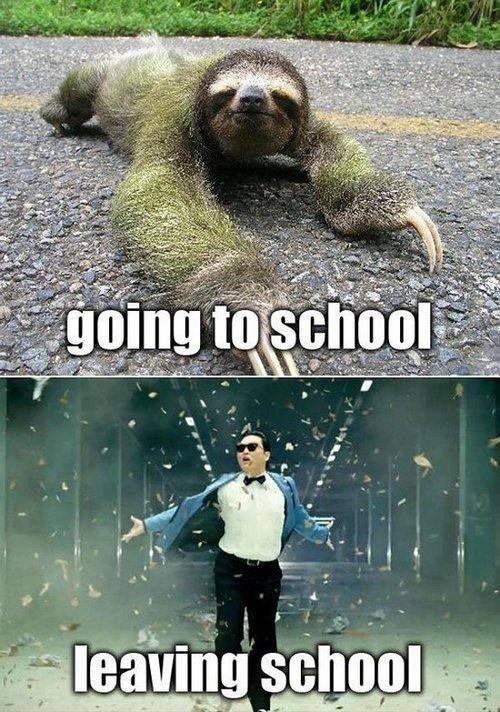 goingto school - leaving school