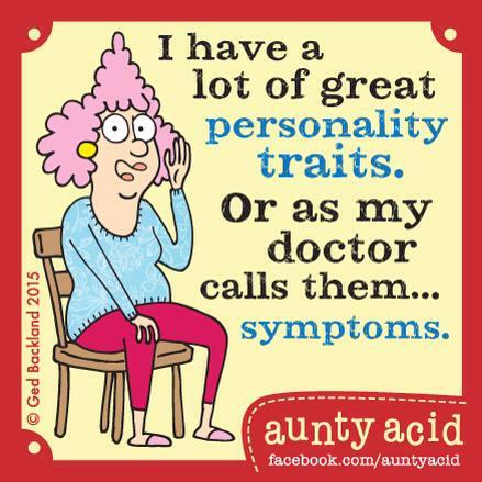 personality traits - symptoms