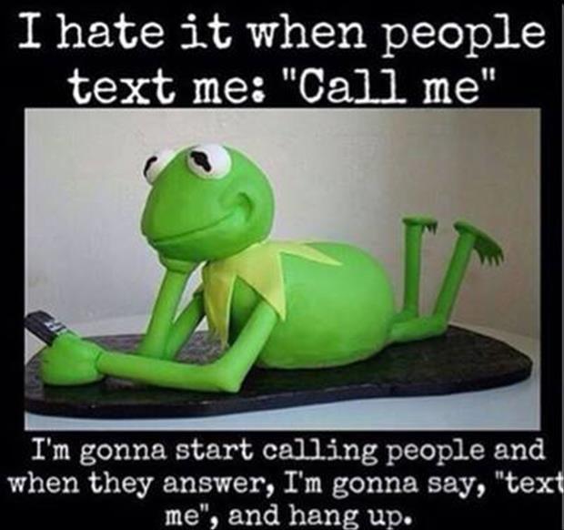 text-call me