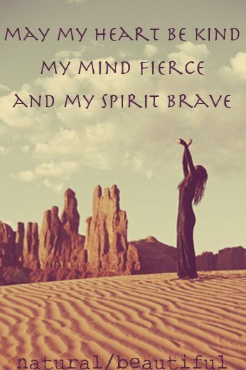 heart kind - spririt brave