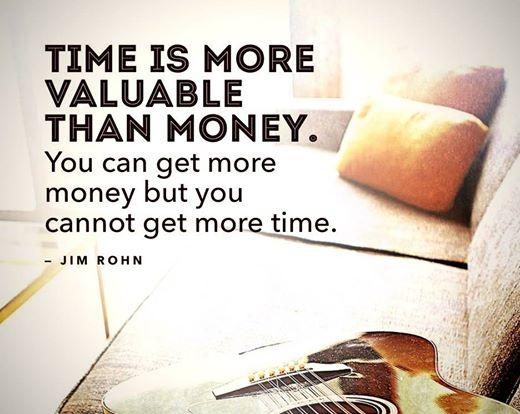 time better money