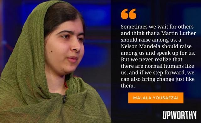 Malala persons like us