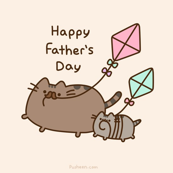 Pusheen Happy Father's Day