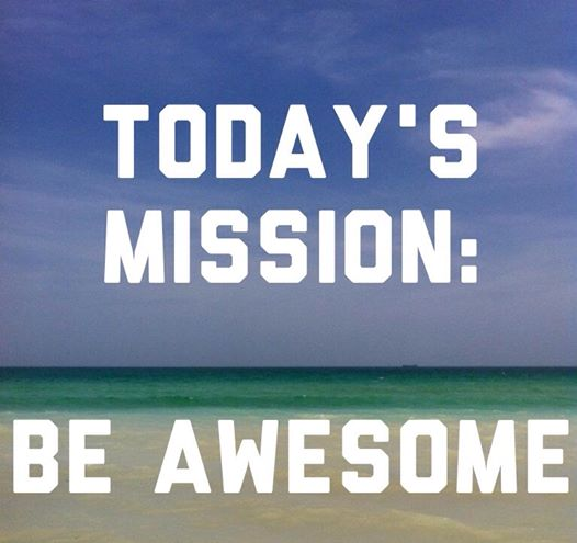 today mission awesome