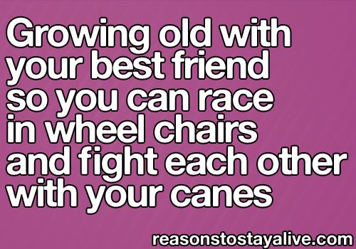 growing old with best friends