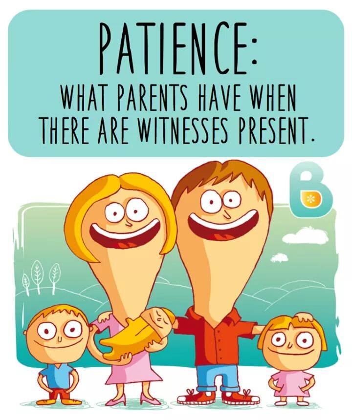 patience parents witnesses