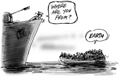 Earth migrants