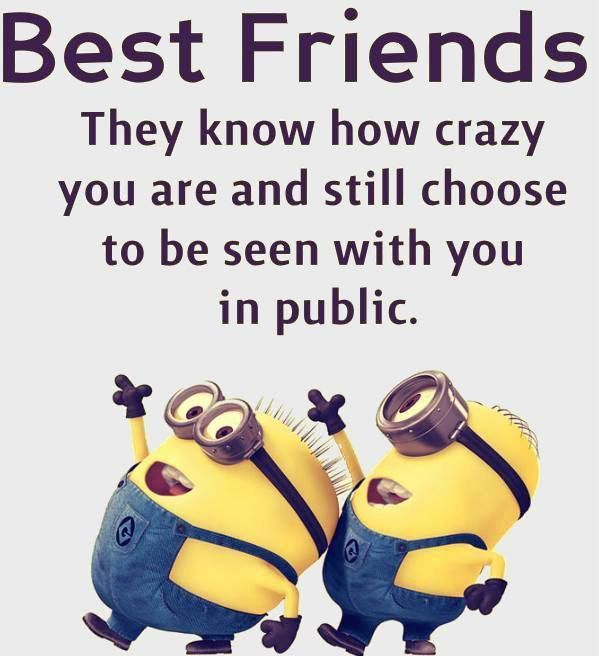 Minions - best friends