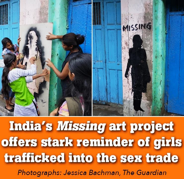 Missing girls art project