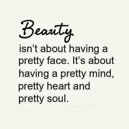 beauty pretty mind heart soul