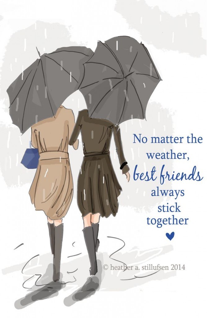 best friends - weather