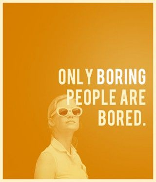 boring people bored