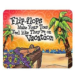 flips flops - toes on vacation