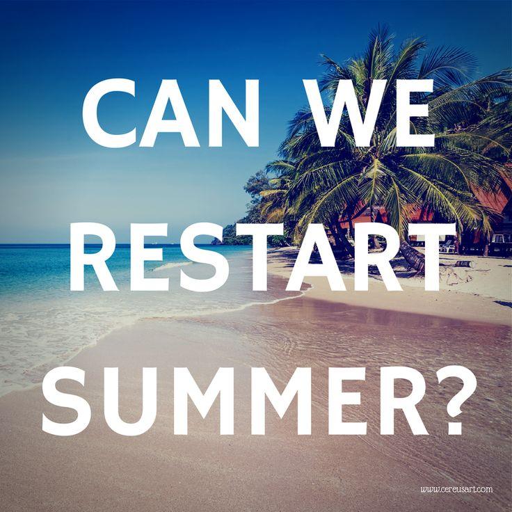 restart summer