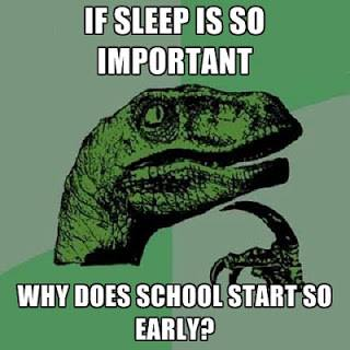 sleep important - school early