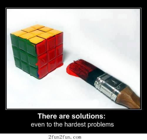 solutions to hardest problems