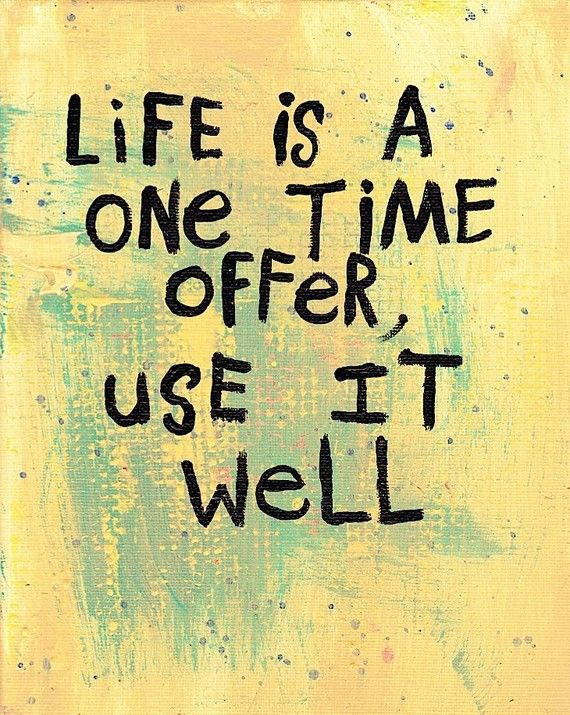 life - once time offer