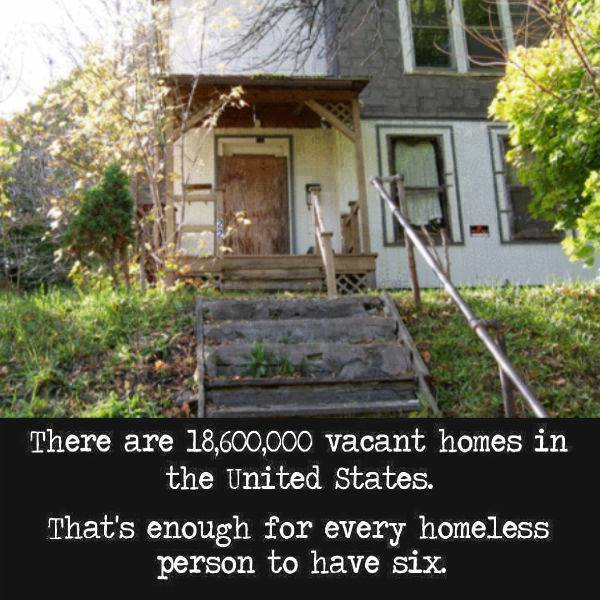 vacant homes USA