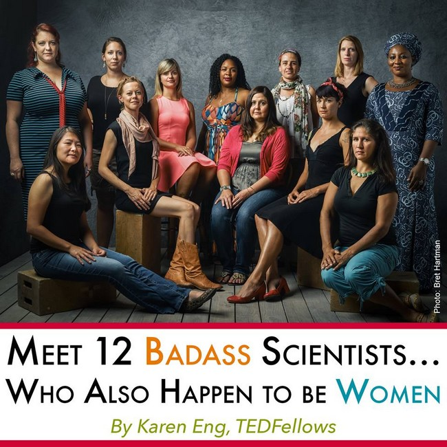 12 badass scientists