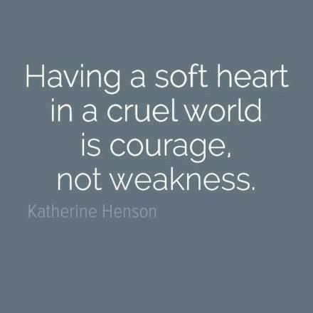 soft heart cruel world