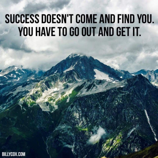 success go and get it