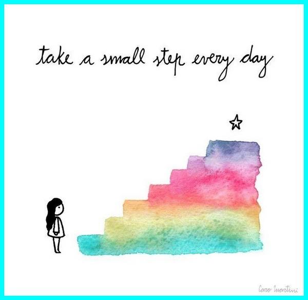 take small step