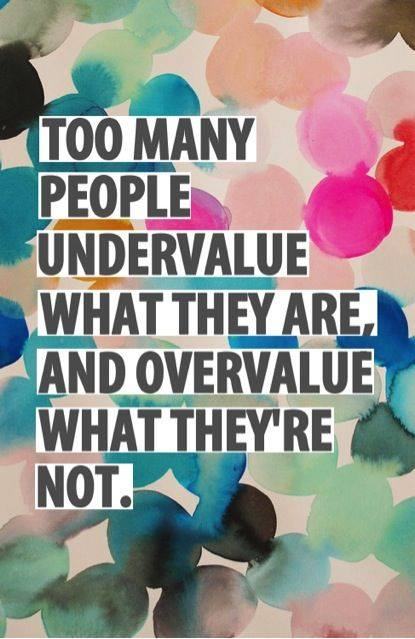 undervalue overvalue