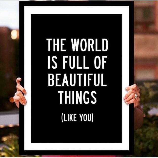 world full beautiful things you