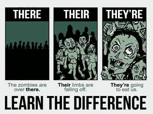 zombies grammar