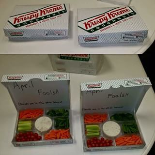 april fools doughnuts