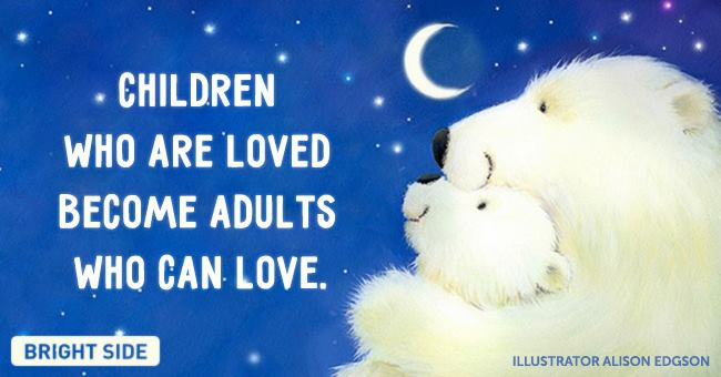 chidren loved - adult love