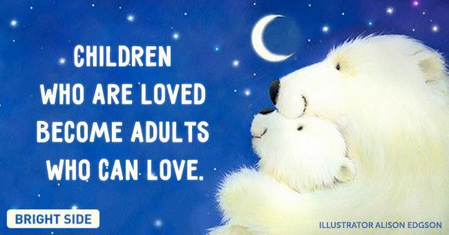 chidren loved - adult love