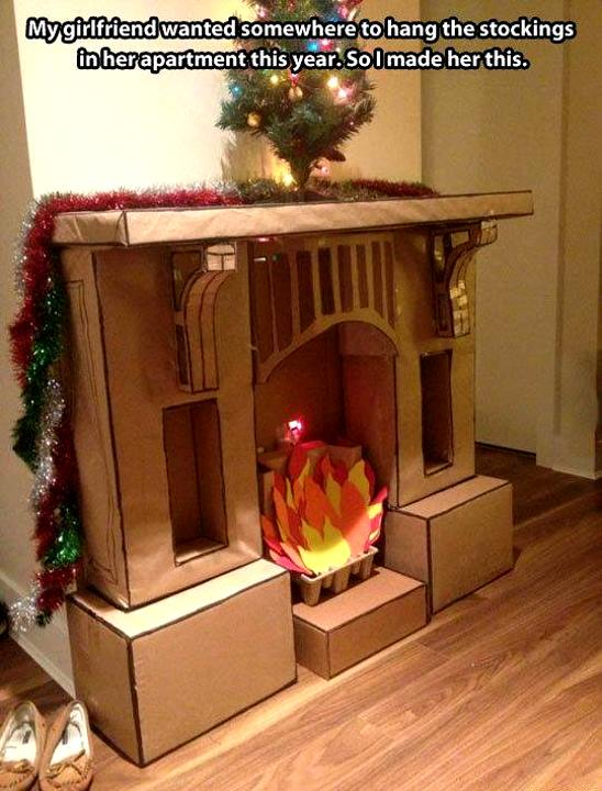 Mmgs english blog at pmcurie tag humour page 28 fake cardboard fireplace solutioingenieria Choice Image