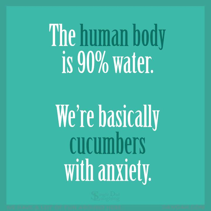 human body water cucumber